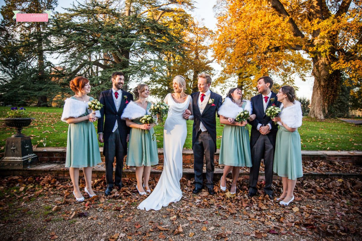 rachel lambert photography maunsel house wedding bridal party