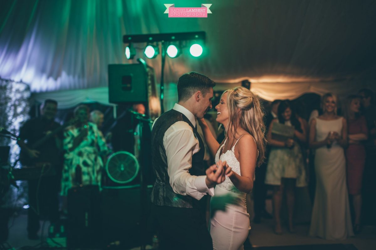 wedding  the grove nartberth first dance bride and groom