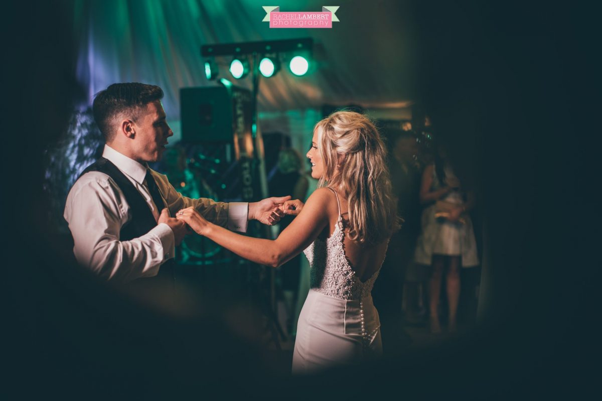 first dance wedding  the grove nartberth bride and groom