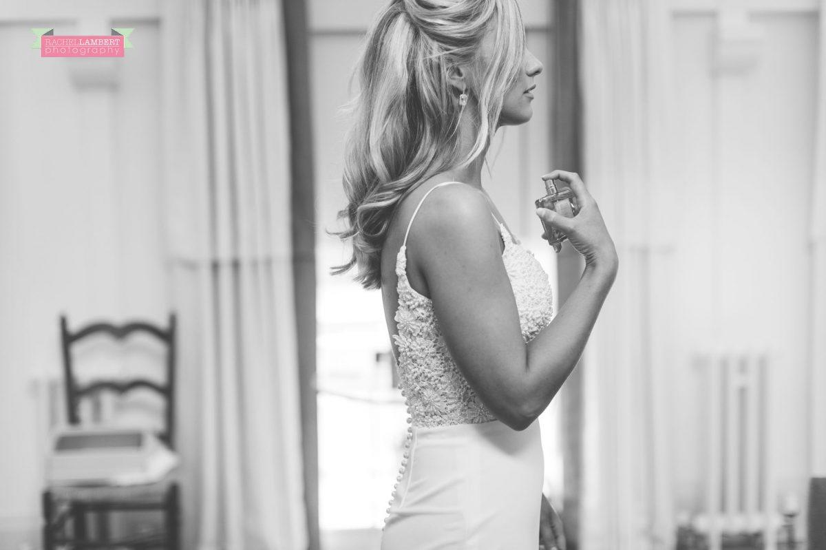bridal preparation at the grove narberth perfume shot