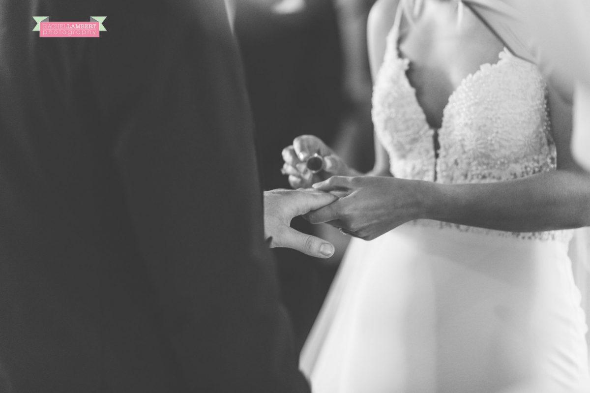 ring shot church wedding