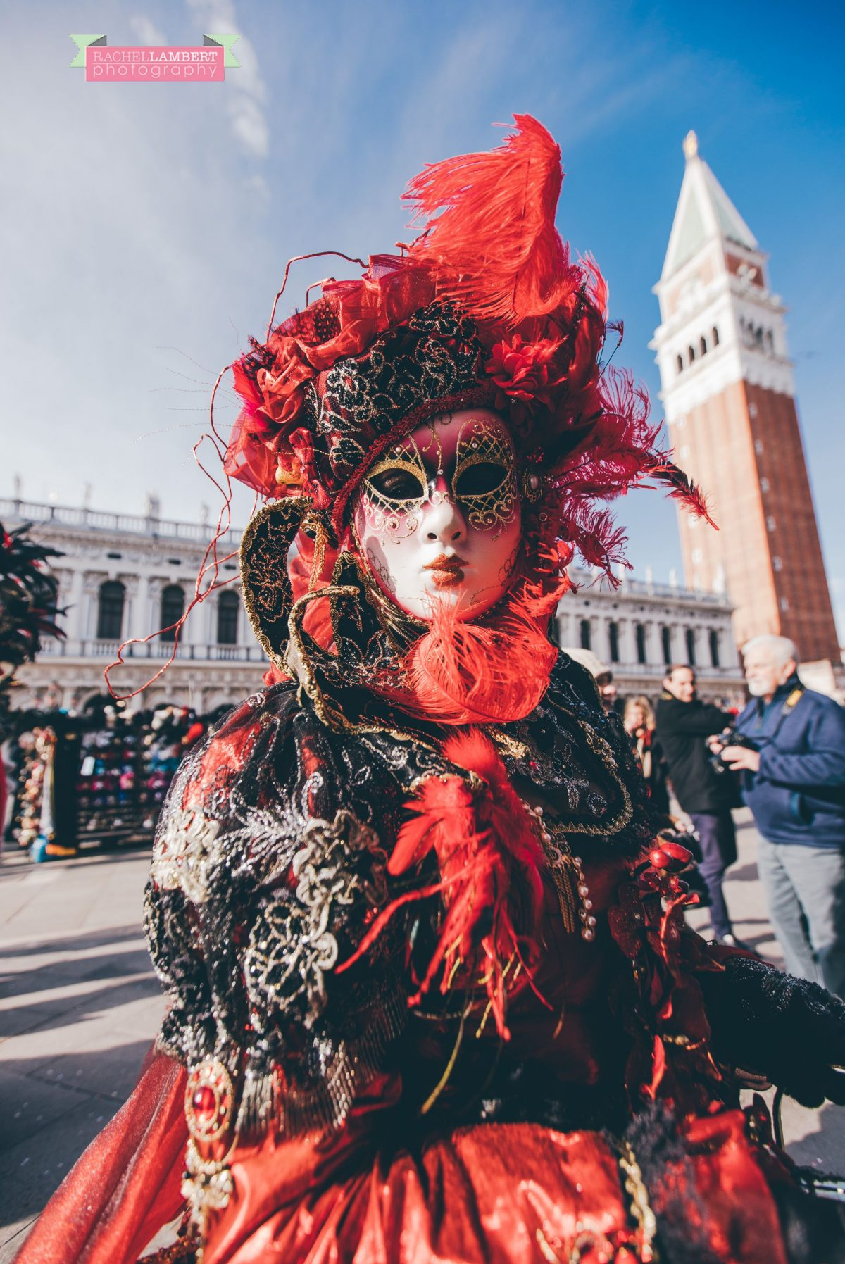 venice mask festival st marks square italy portrait