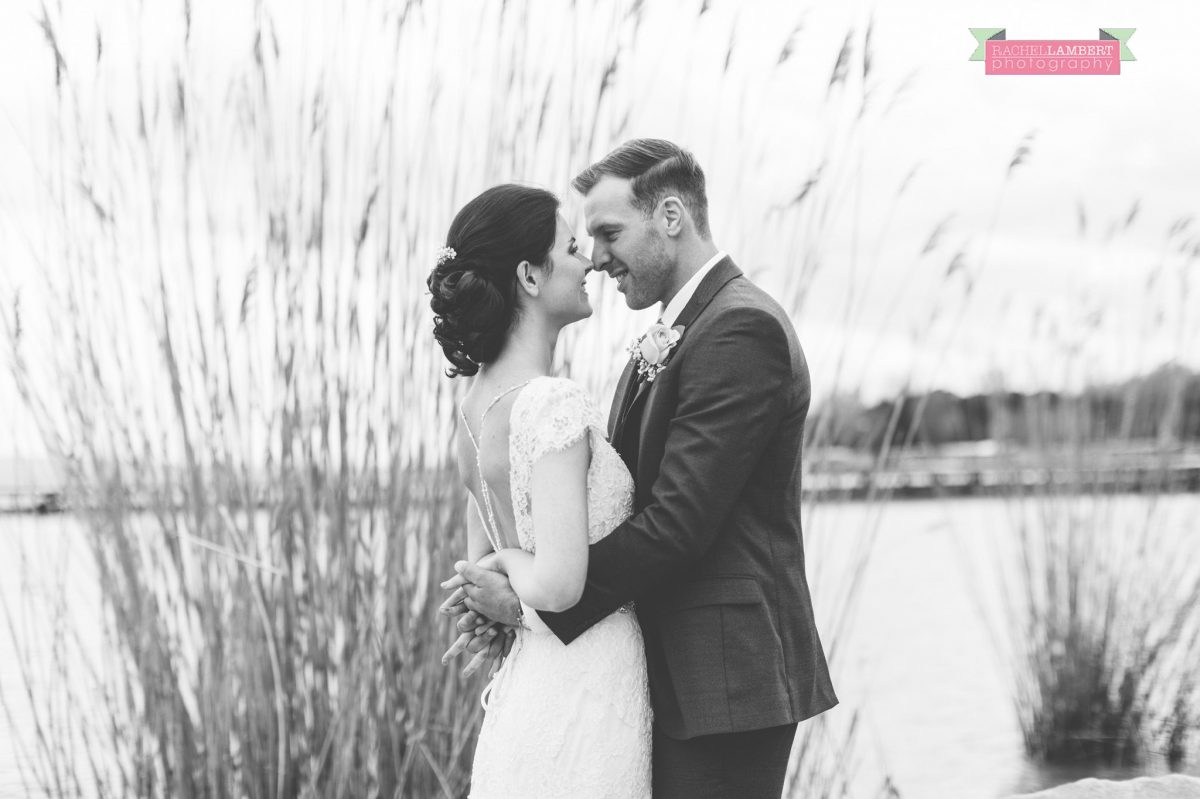 bride and groom portrait wedding in italy black and white