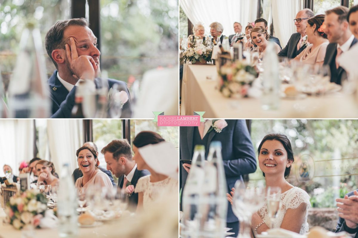 bride and groom speeches wedding in italy