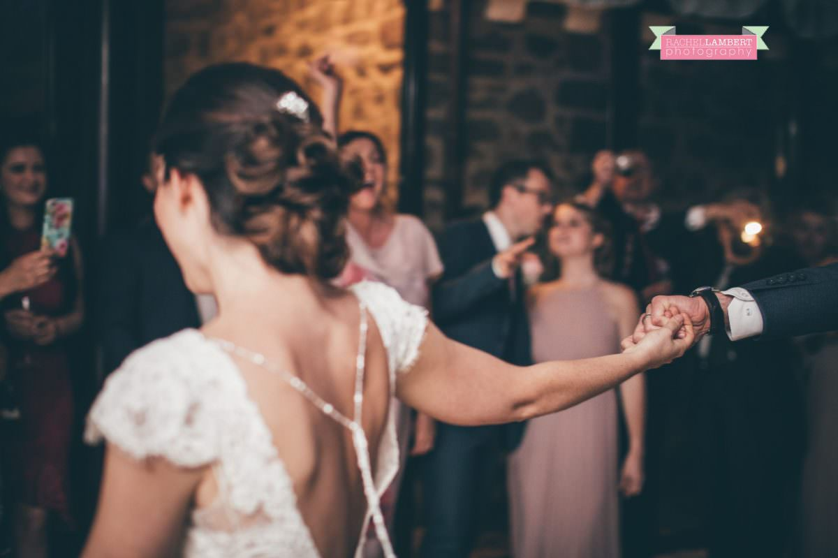 bride and groom first dance wedding in italy