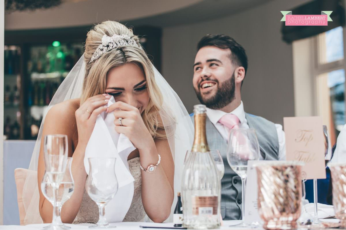 rachel lambert photography bride and groom holm house speeches