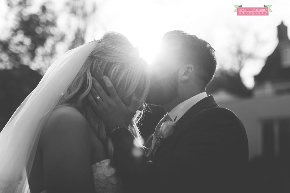 rachel lambert photography bride and groom holm house sun flare shots
