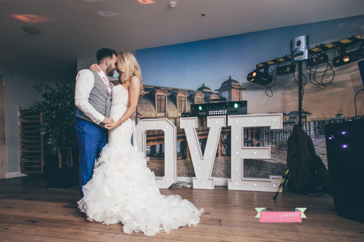 rachel lambert photography bride and groom holm house first dance
