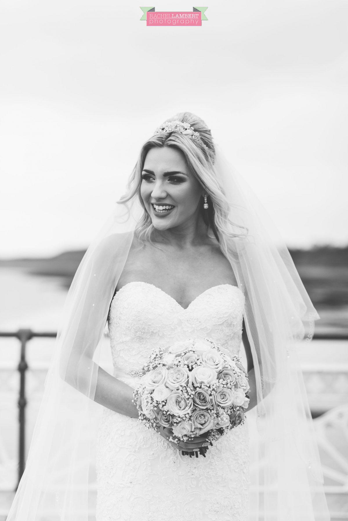 rachel lambert photography bride penarth pier