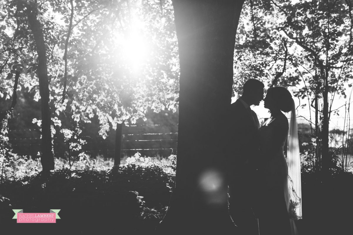 rachel lambert photography bride and groom pencoed house golden hour