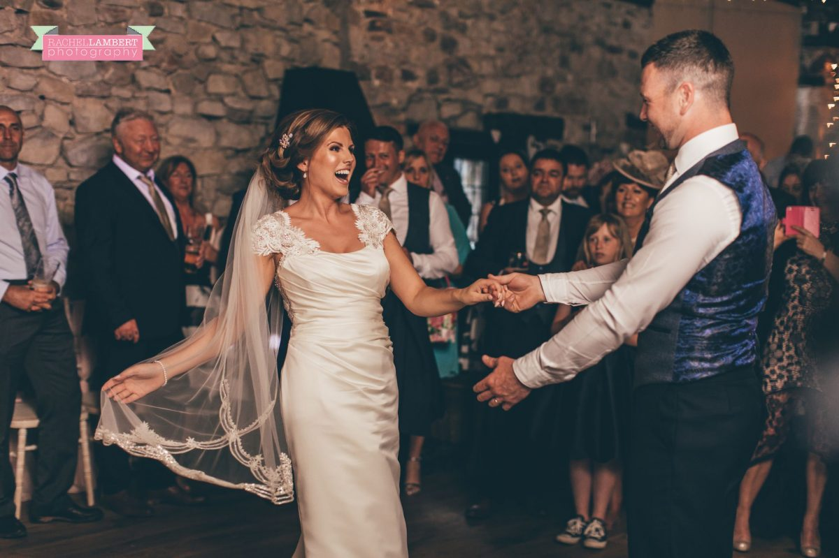 rachel lambert photography bride and groom pencoed house first dance