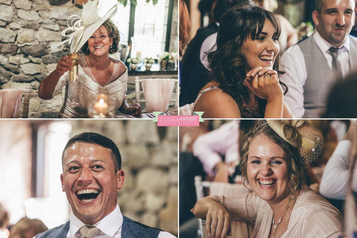 rachel lambert photography bride and groom pencoed house speeches