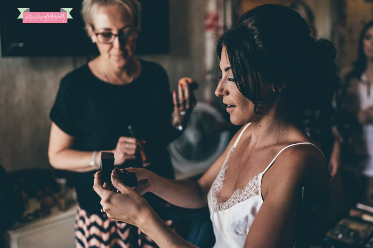 Rachel Lambert Photography llanerch vineyard wedding photographer bridal prep