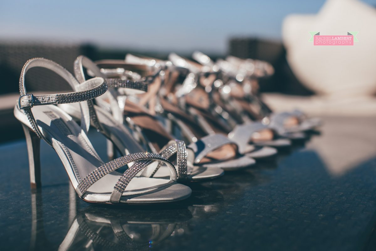 olwalls wedding photographer rachel lambert photography bridal shoes