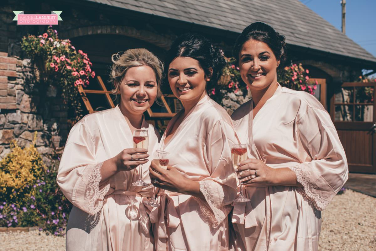 olwalls wedding photographer rachel lambert photography bridesmaids at mulberry house
