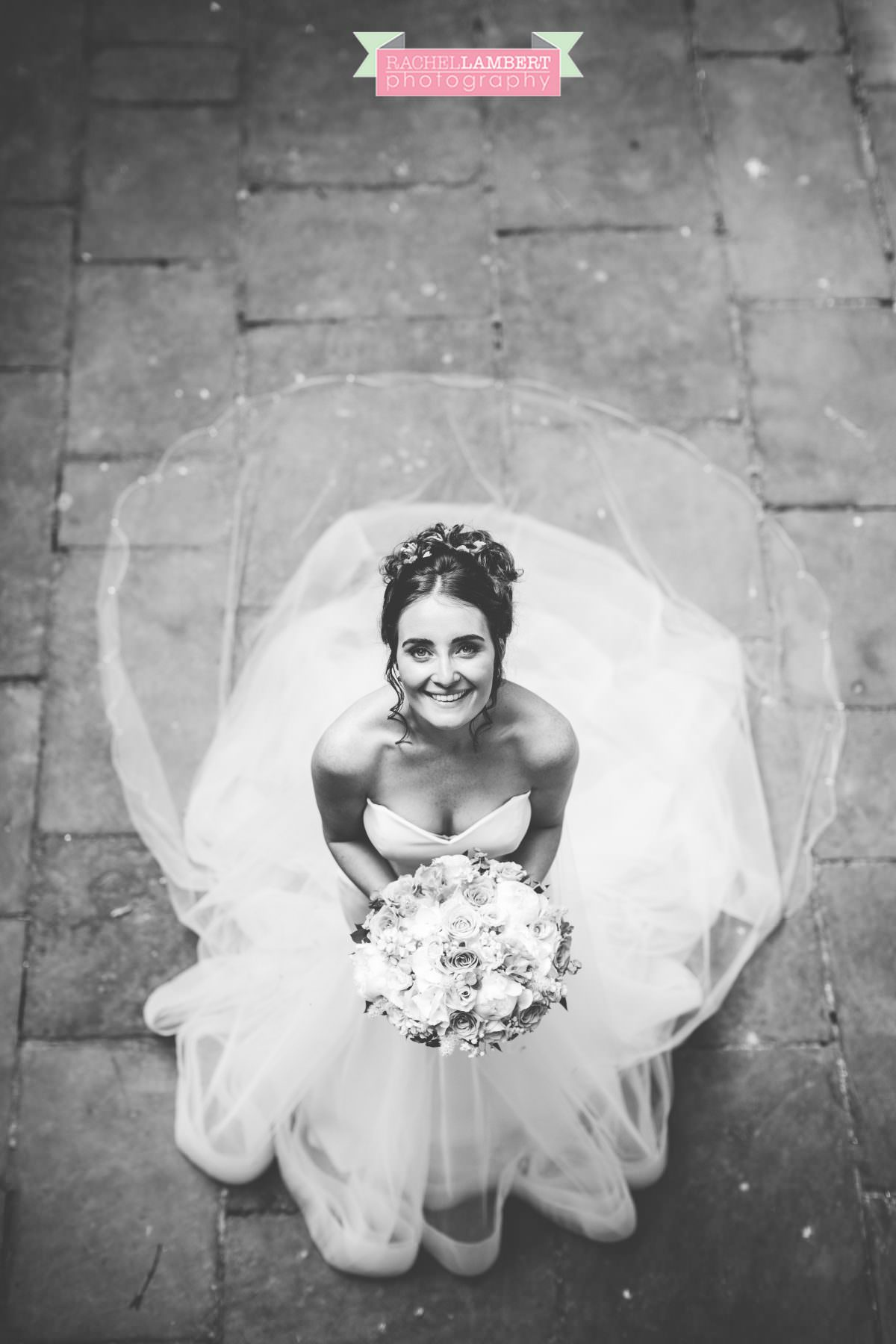 olwalls wedding photographer rachel lambert photography bridal portrait weobley castle