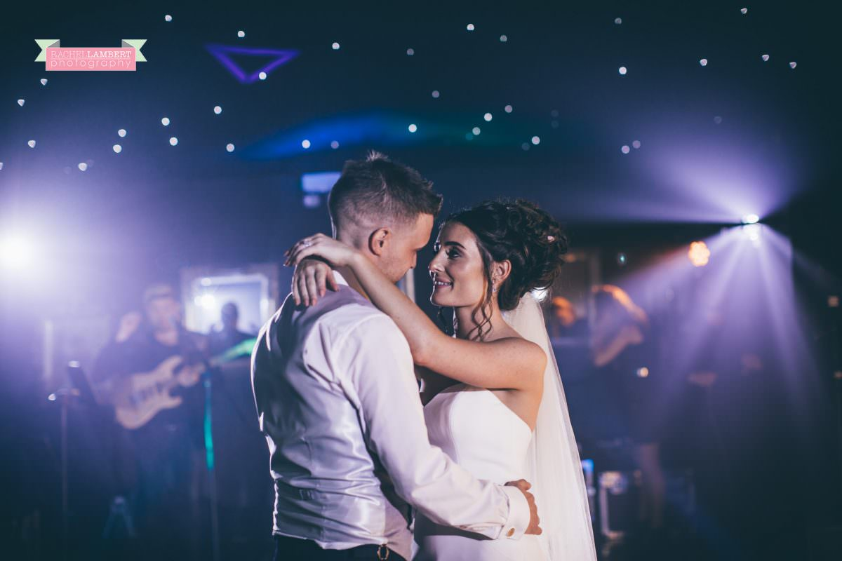 olwalls wedding photographer rachel lambert photography bride and groom first dance