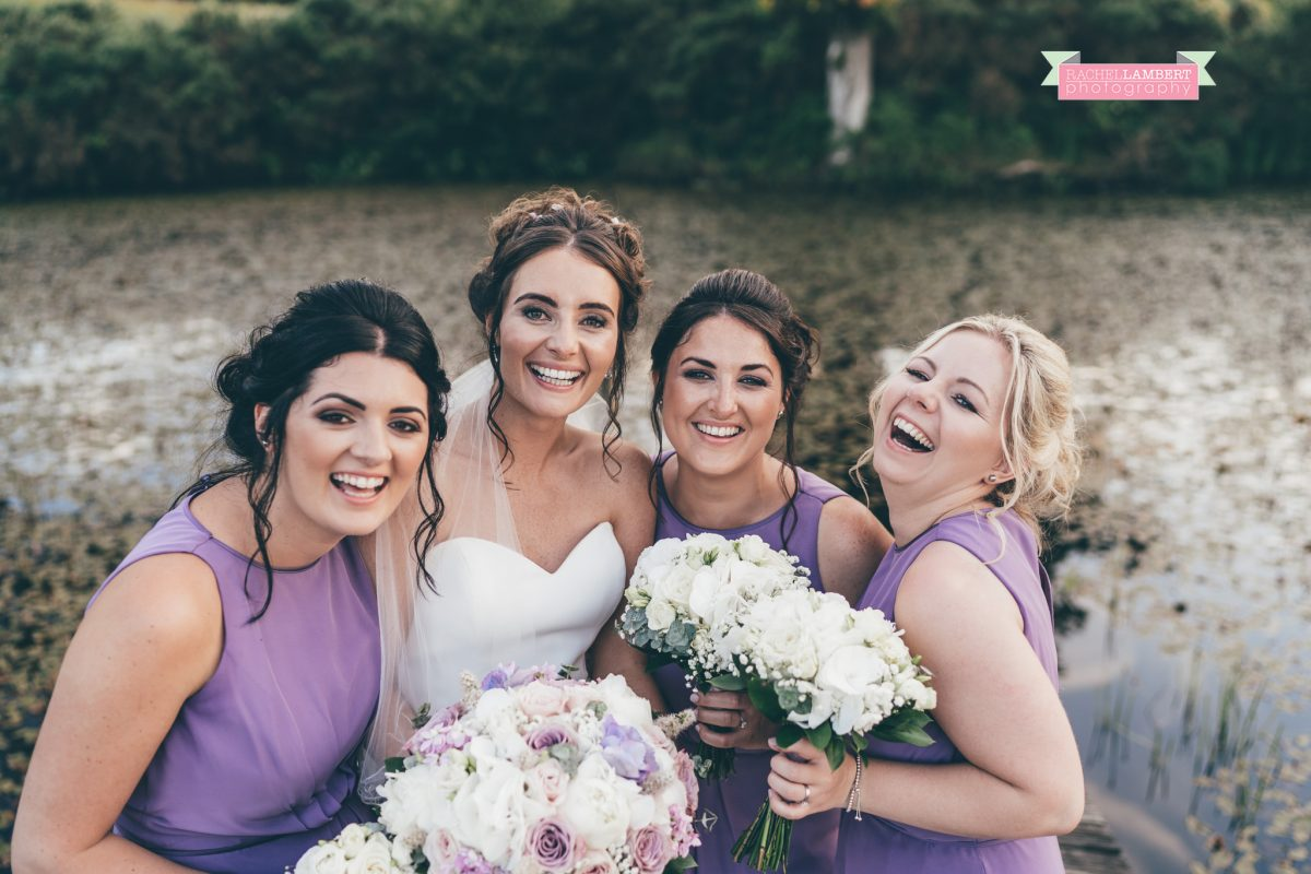 olwalls wedding photographer rachel lambert photography bridesmaids