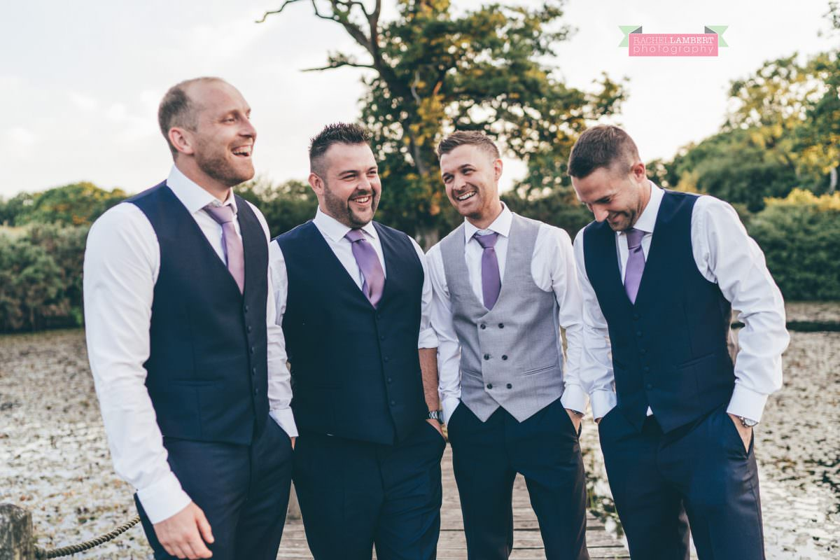 olwalls wedding photographer rachel lambert photography groomsmen