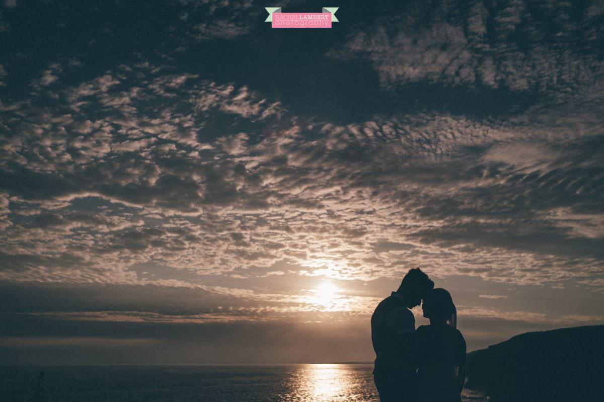 rachel lambert photography post wedding shoot southerndown beach sony alpha bride and groom sunset