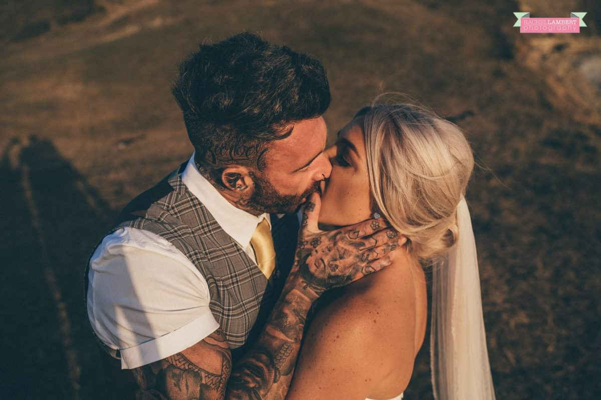 rachel lambert photography post wedding shoot southerndown beach sony alpha bride and groom golden hour