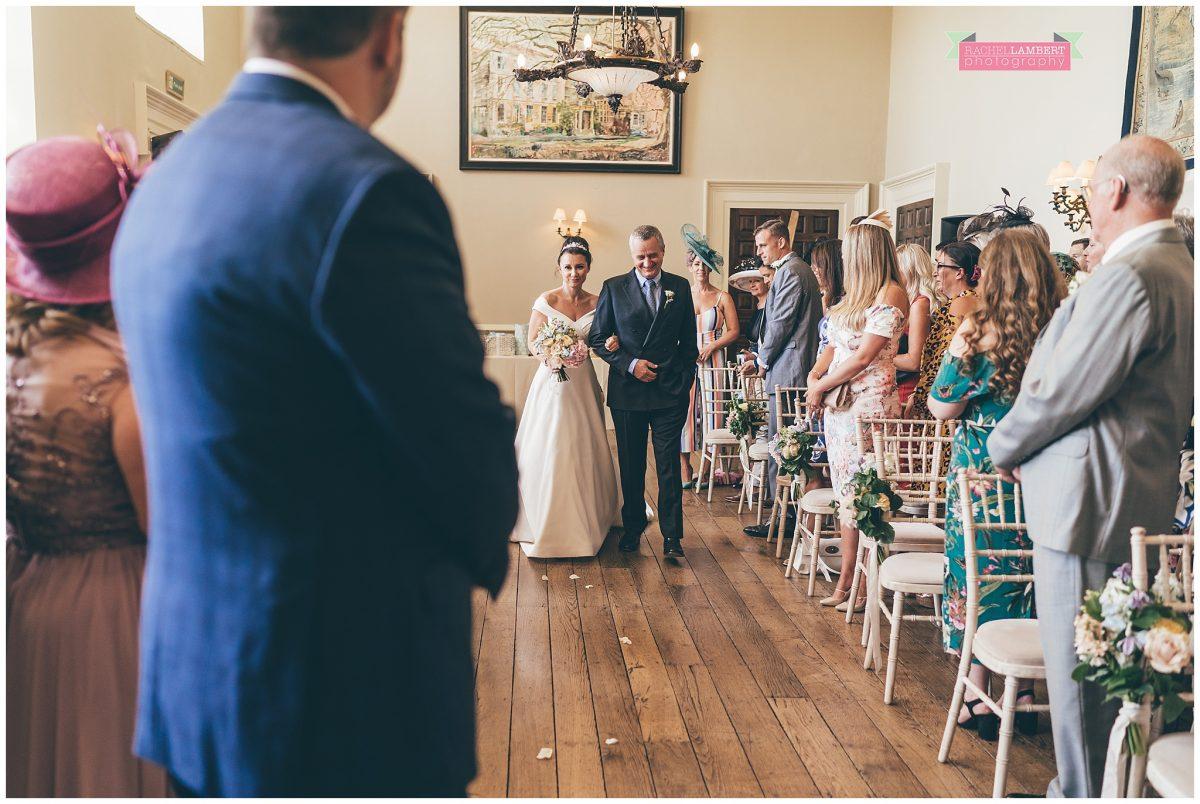 elmore court wedding photographer brides entrance