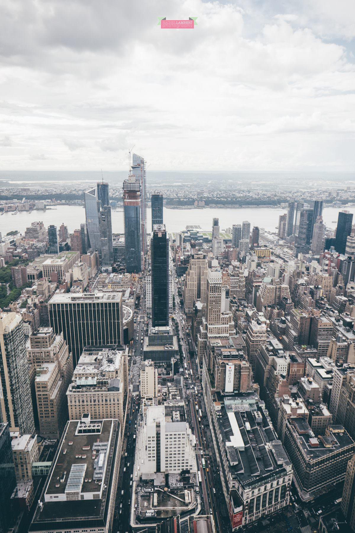 new york skyline rachel lambert photography view from empire state building