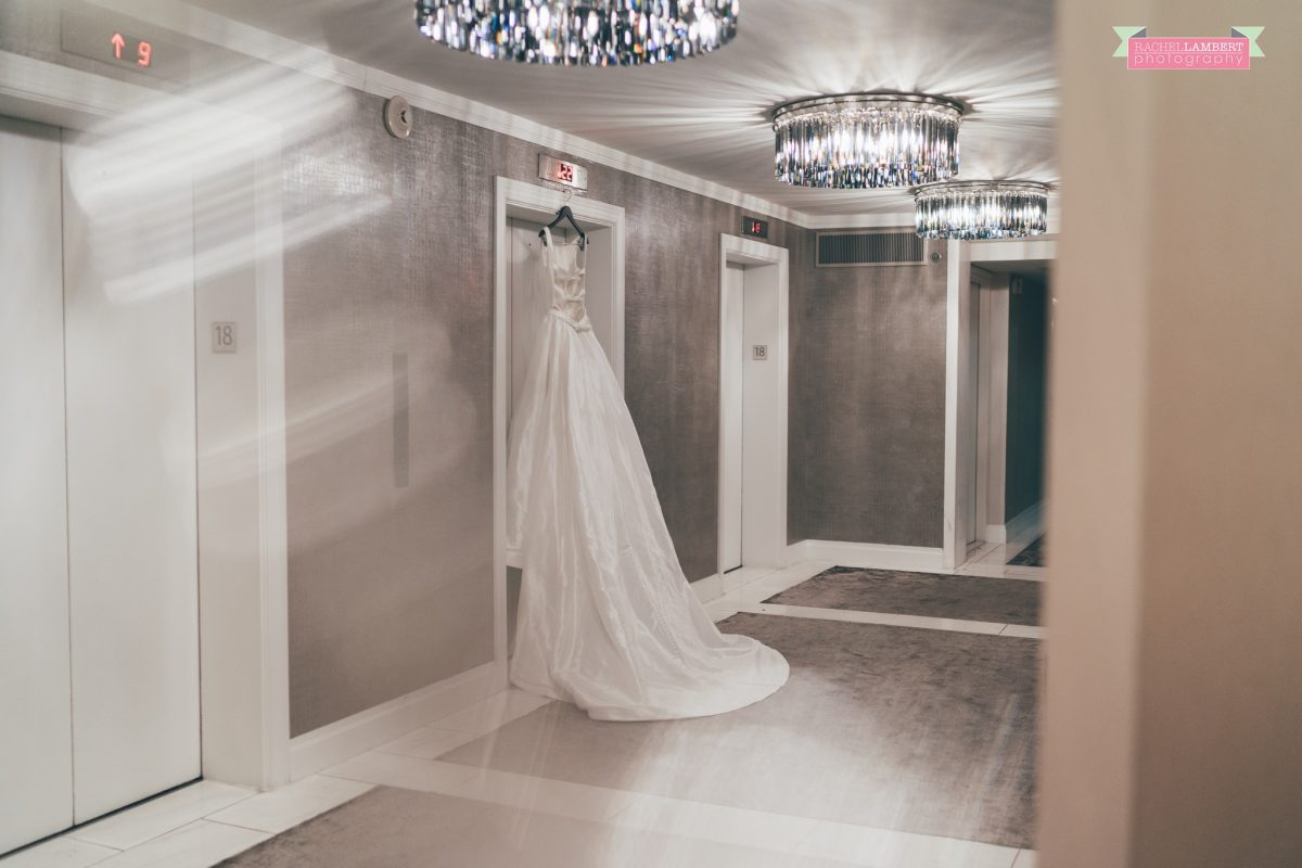 rachel lambert photography new york wedding photos the manhattan hotel time square justin alexander bridal gown