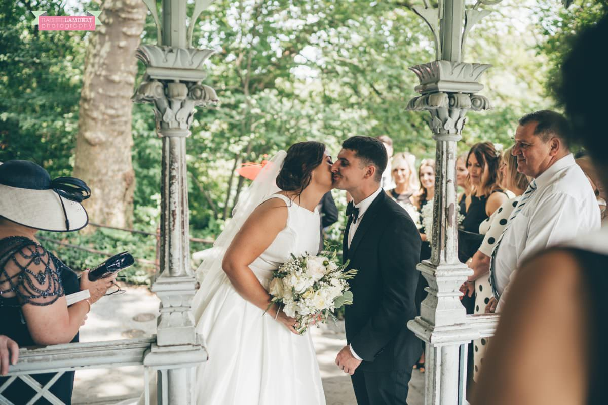 rachel lambert photography new york wedding photos bride and groom central the ladies pavilion wedding ceremony