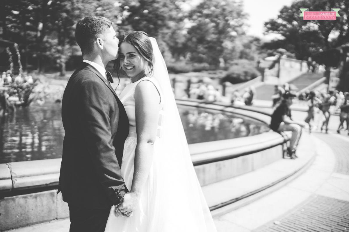 rachel lambert photography new york wedding photos bride and groom bethesda fountain central park