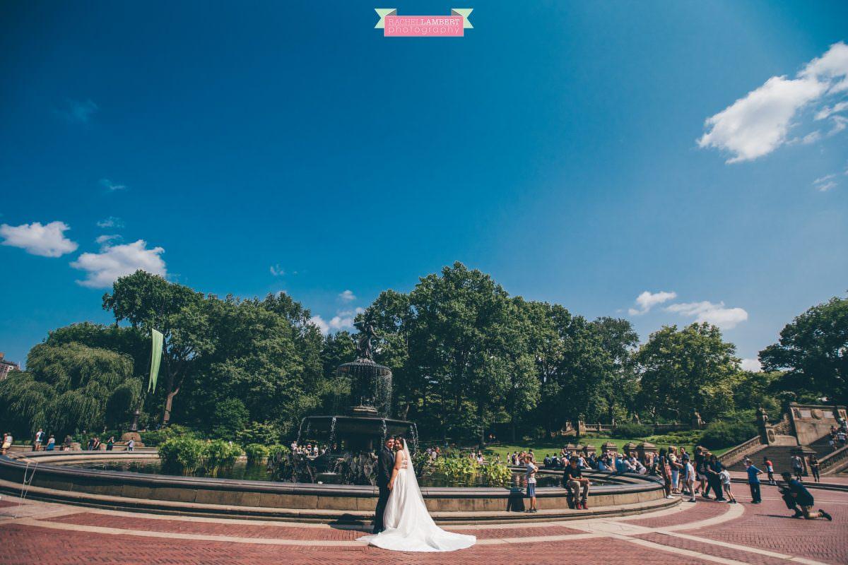 central park wedding photos bethesda fountain