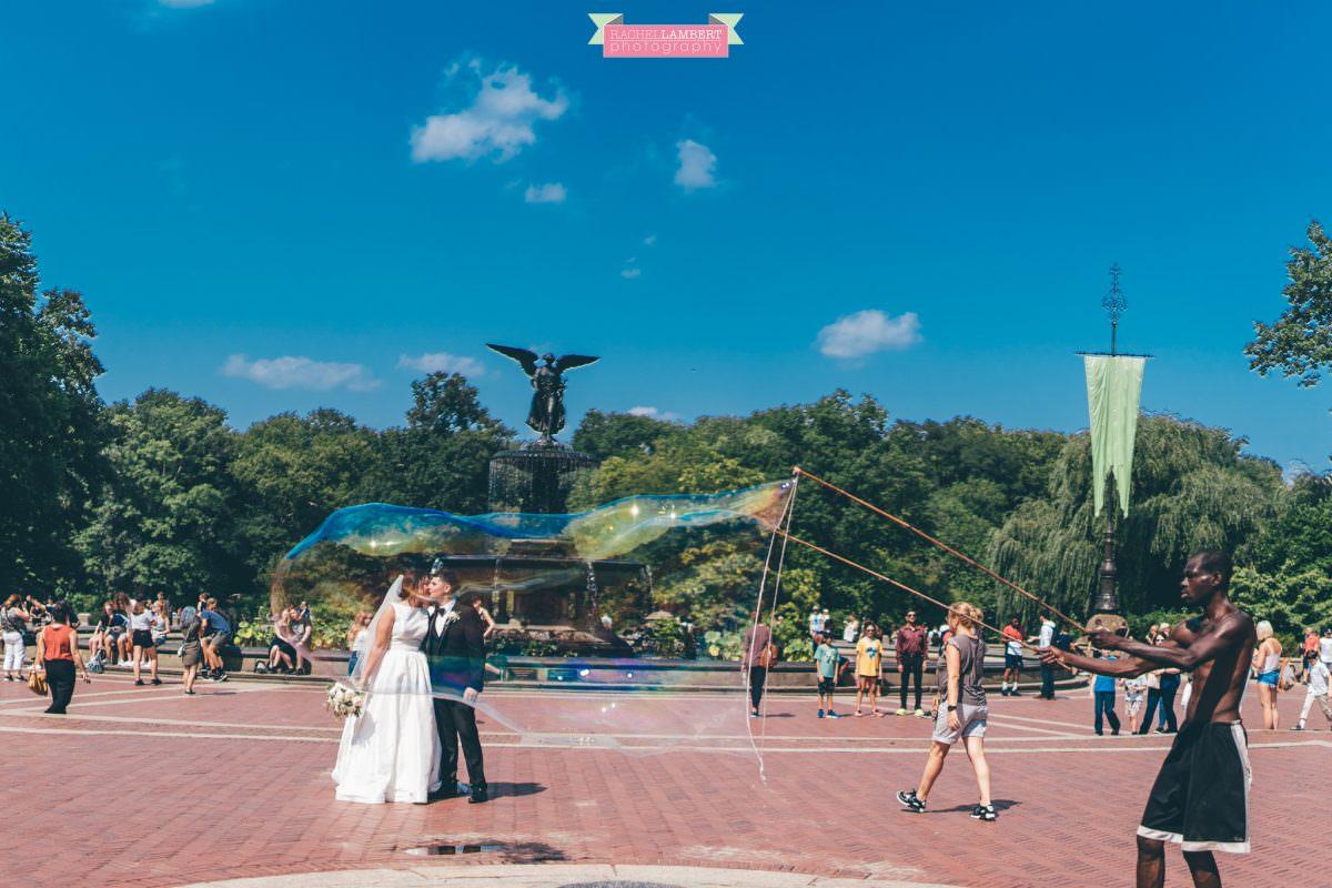 rachel lambert photography new york wedding photos bride and groom bethesda fountain