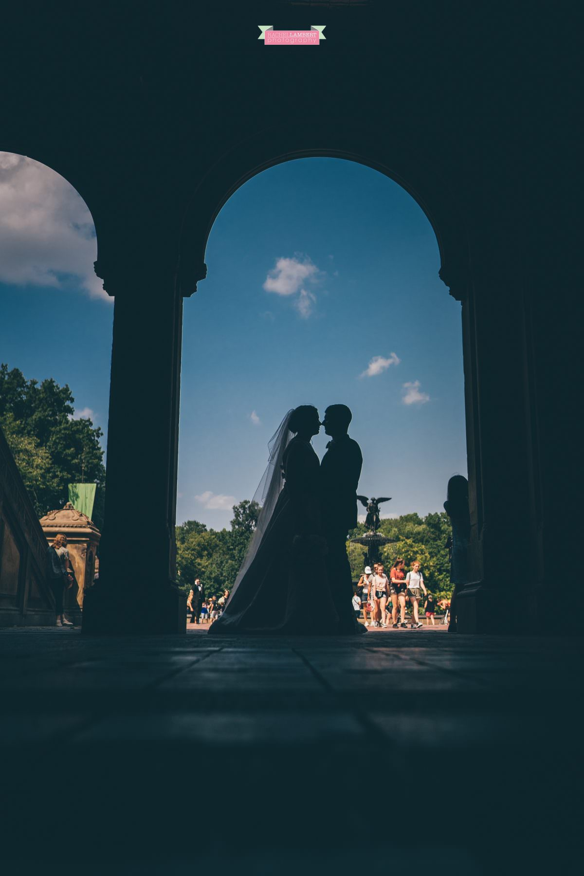 central park wedding photos bethesda terrace