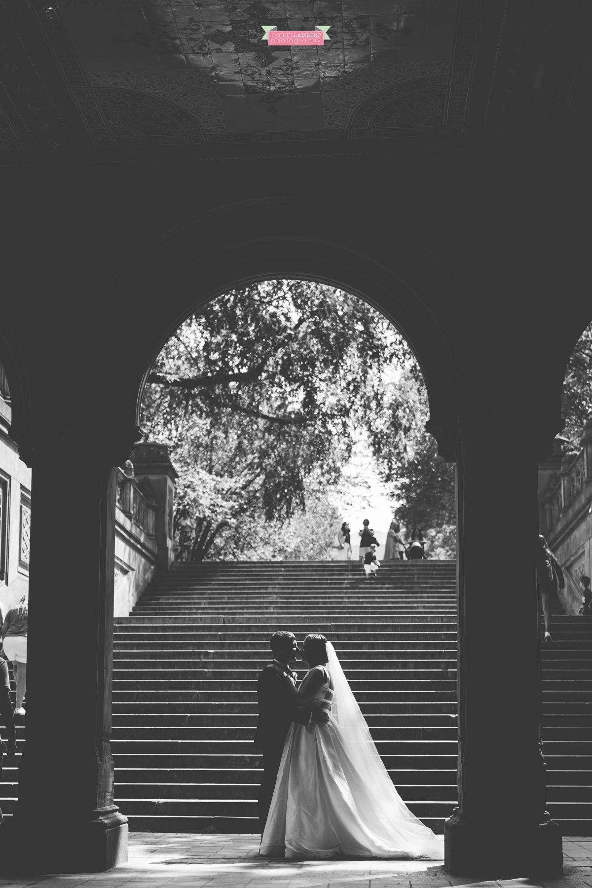 central park wedding photos bethesda terrace