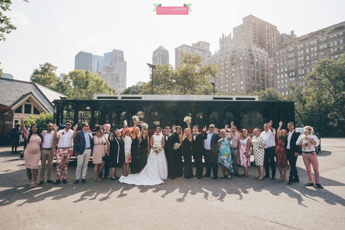 rachel lambert photography new york wedding photos bride and groom wedding party