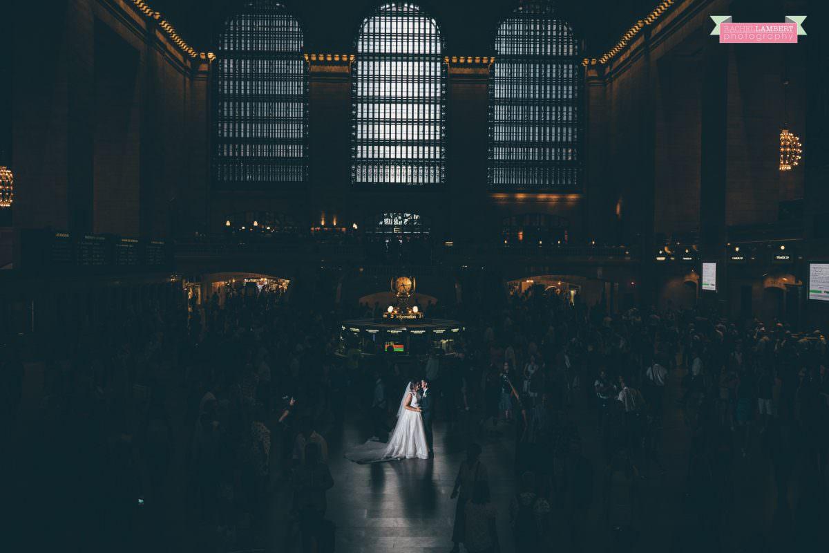 destination wedding photographer new york grand central station