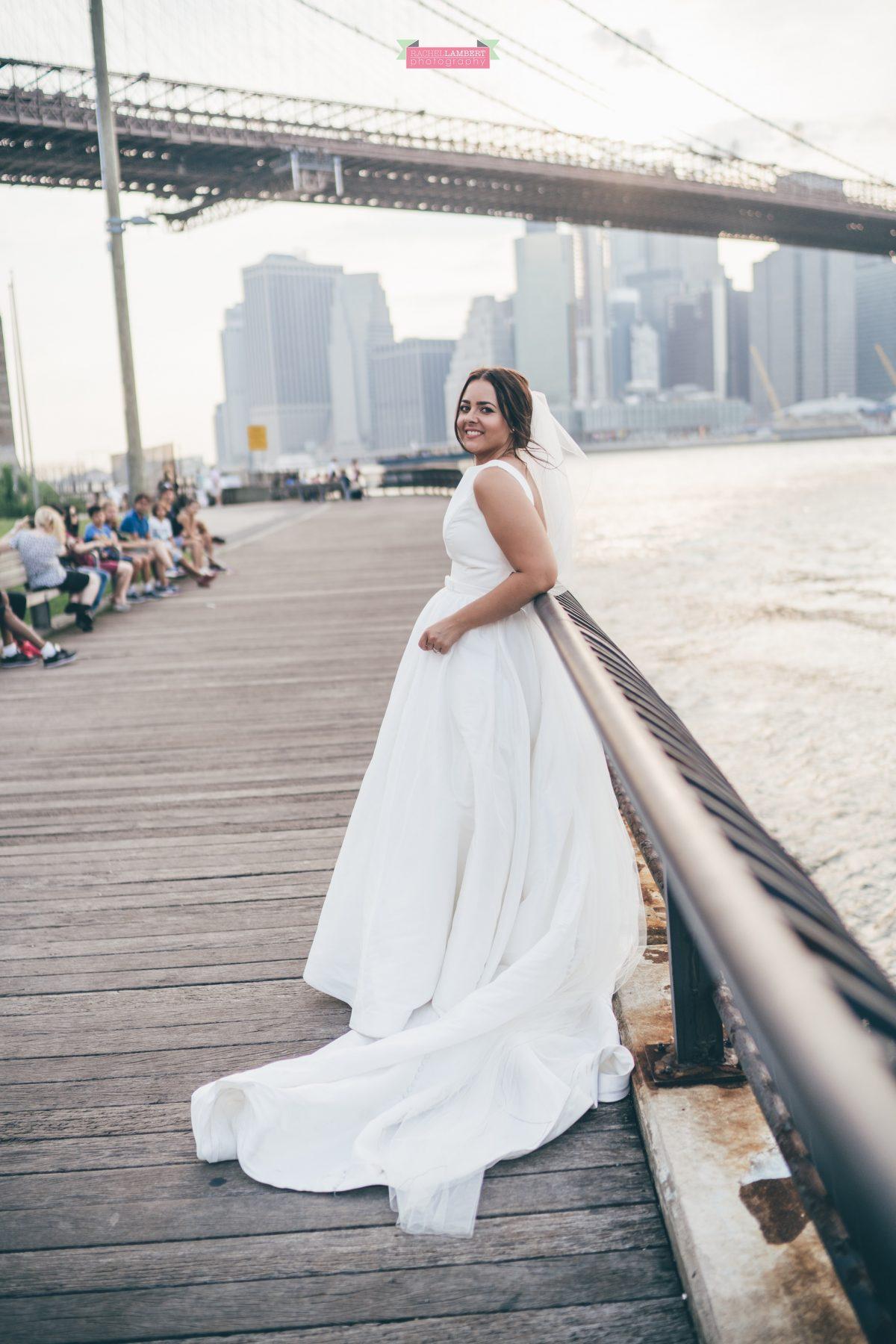 rachel lambert photography new york wedding photos bride brooklyn bridge