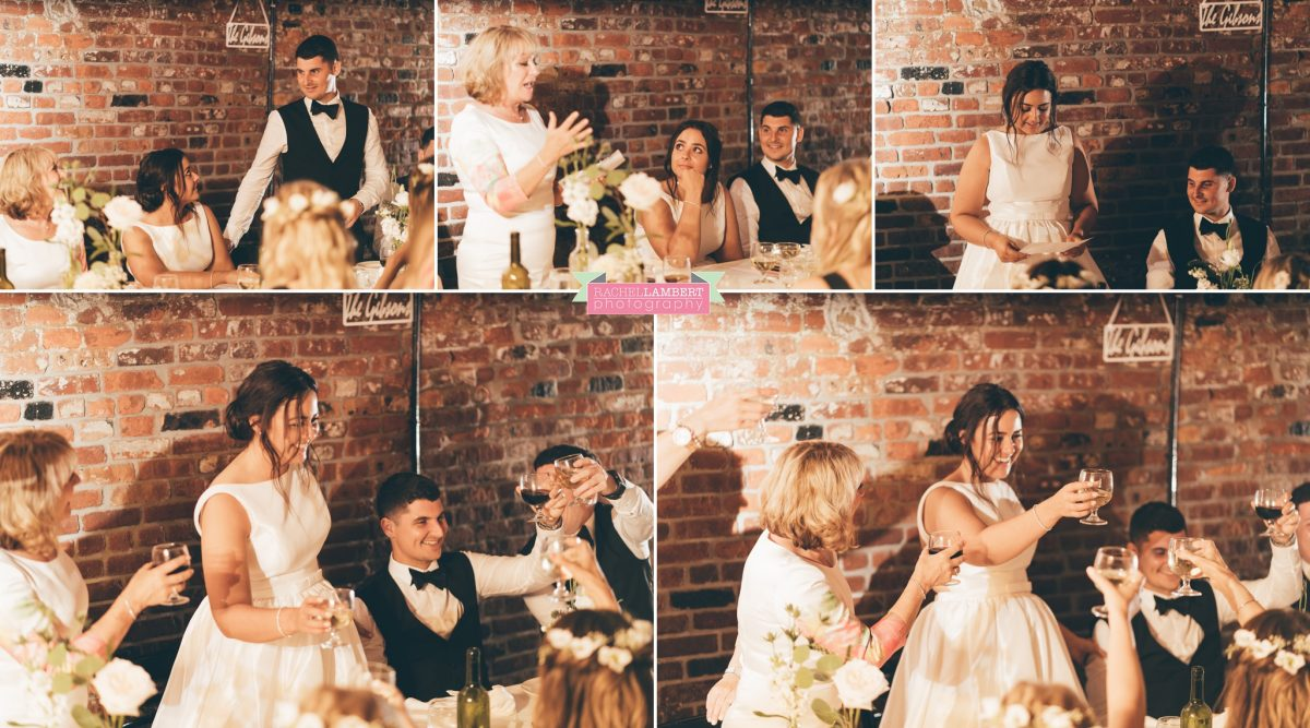 rachel lambert photography brooklyn wedding reception speeches