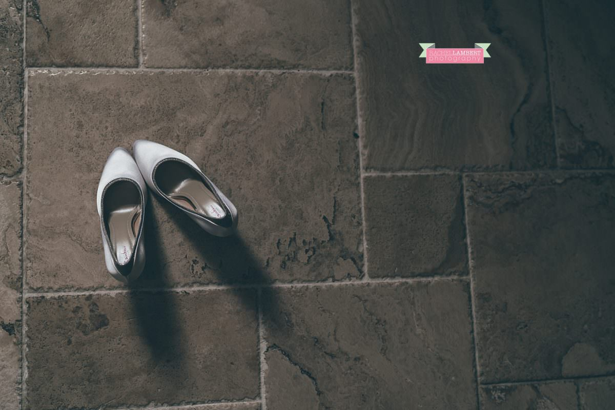 oldwalls wedding photographer bridal shoes