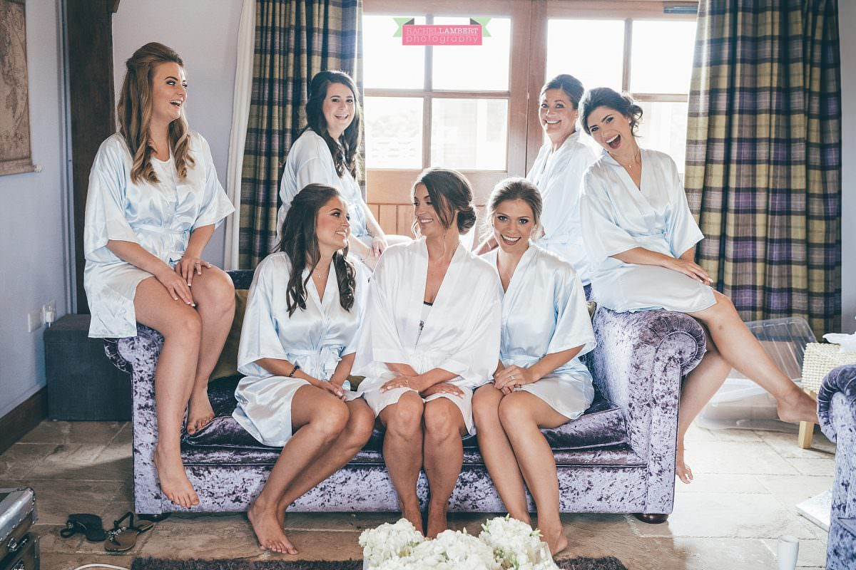 oldwalls wedding photographer bridesmaids