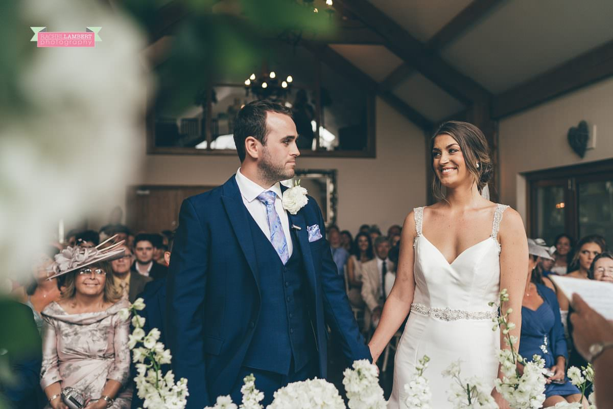 oldwalls wedding photographer bride and groom ceremony