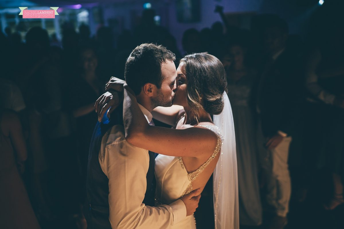oldwalls wedding photographer bride and groom first dance