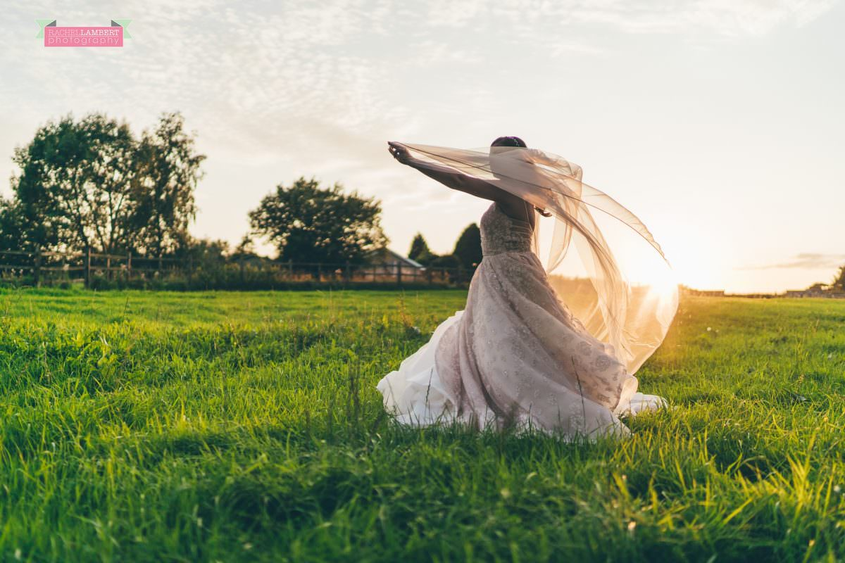 canada lake lodge bride hailey paige bridal gown golden hour