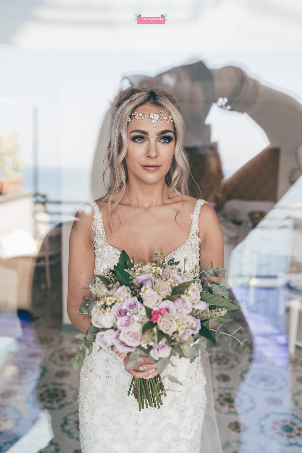 wedding photographer sorrento italy bride and groom chiostro di san francesco laura may bridal prep at the bristol hotel