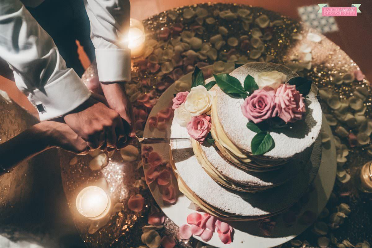 wedding photographer sorrento italy cake cutting villa antiche mura