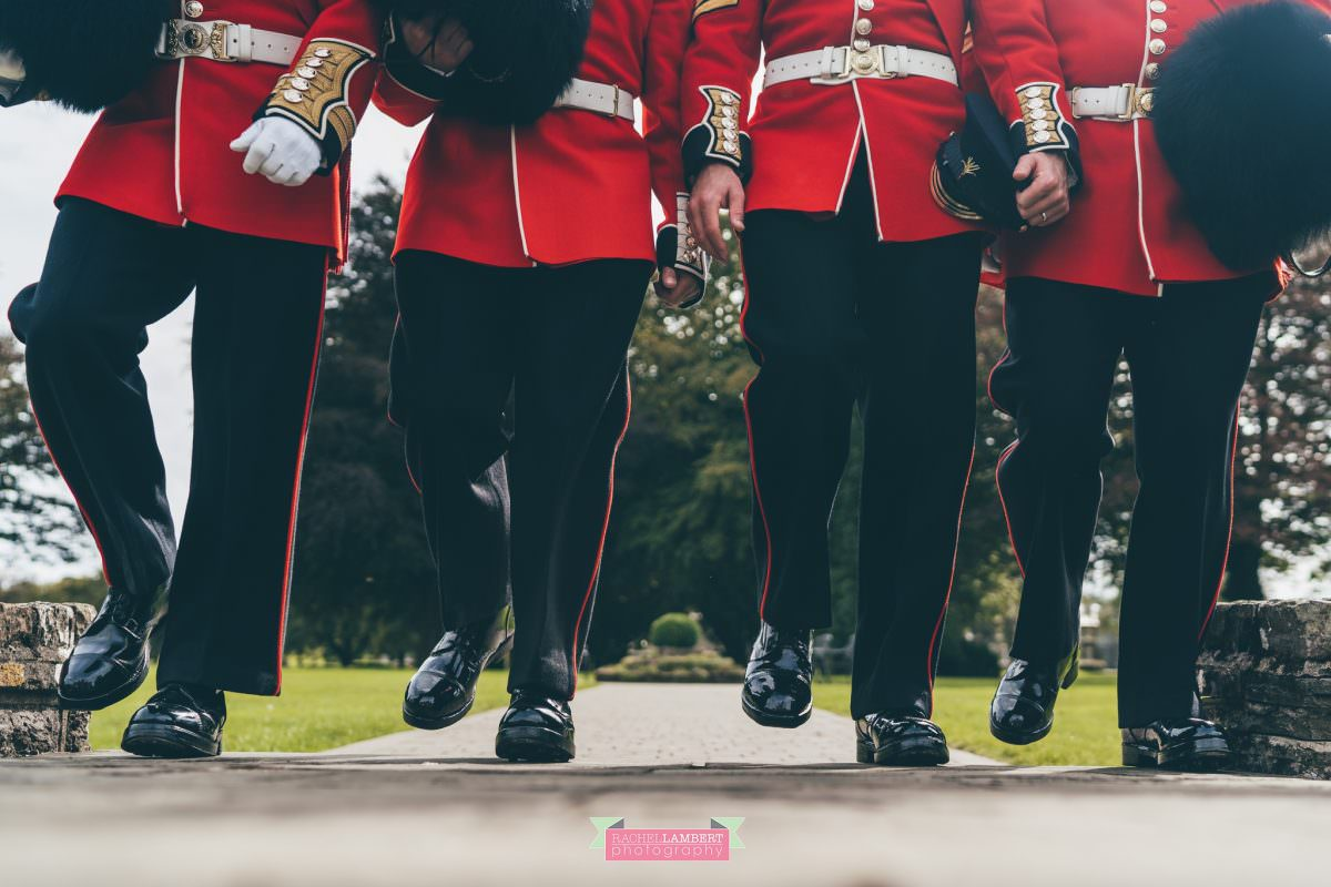 hensol castle wedding photographer welsh royal guards