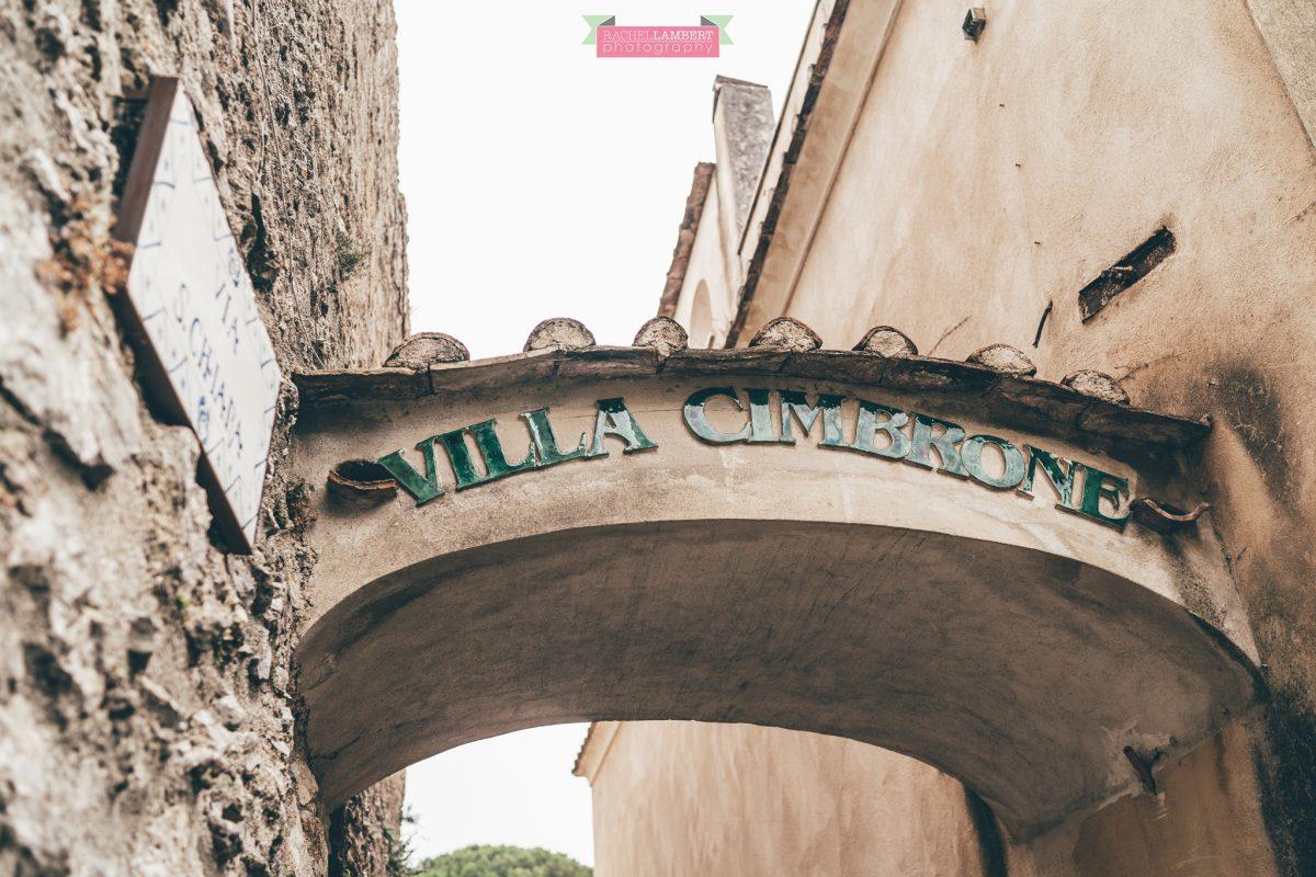 villa cimbrone ravello amalfi wedding photos