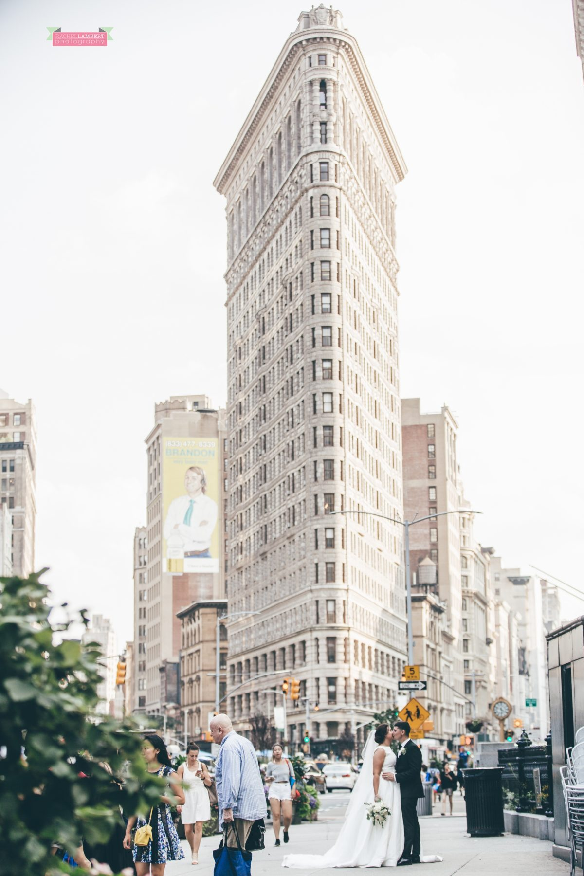 new york flatiron building wedding photographer