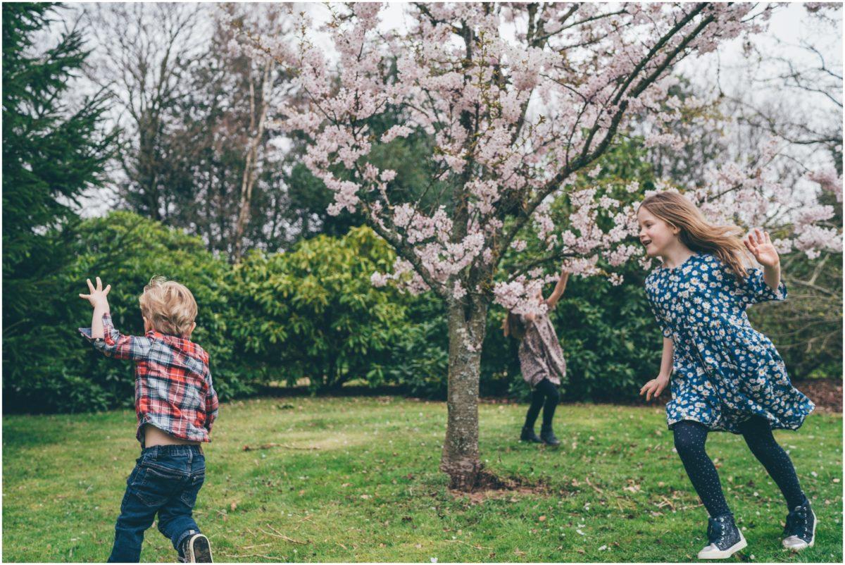 lifestyle photographer cardiff wales rachel lambert photography cherry blossoms