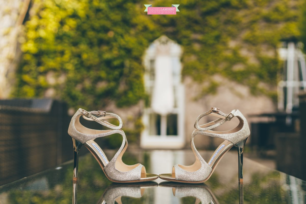 fairyhill cardiff wedding photographer rachel lambert photography jimmy choo shoes